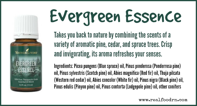 Evergreen Essence Essential Oil | Real Food RN