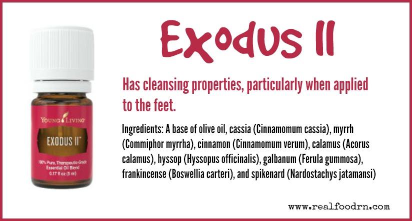 Exodus II Essential Oil | Real Food RN