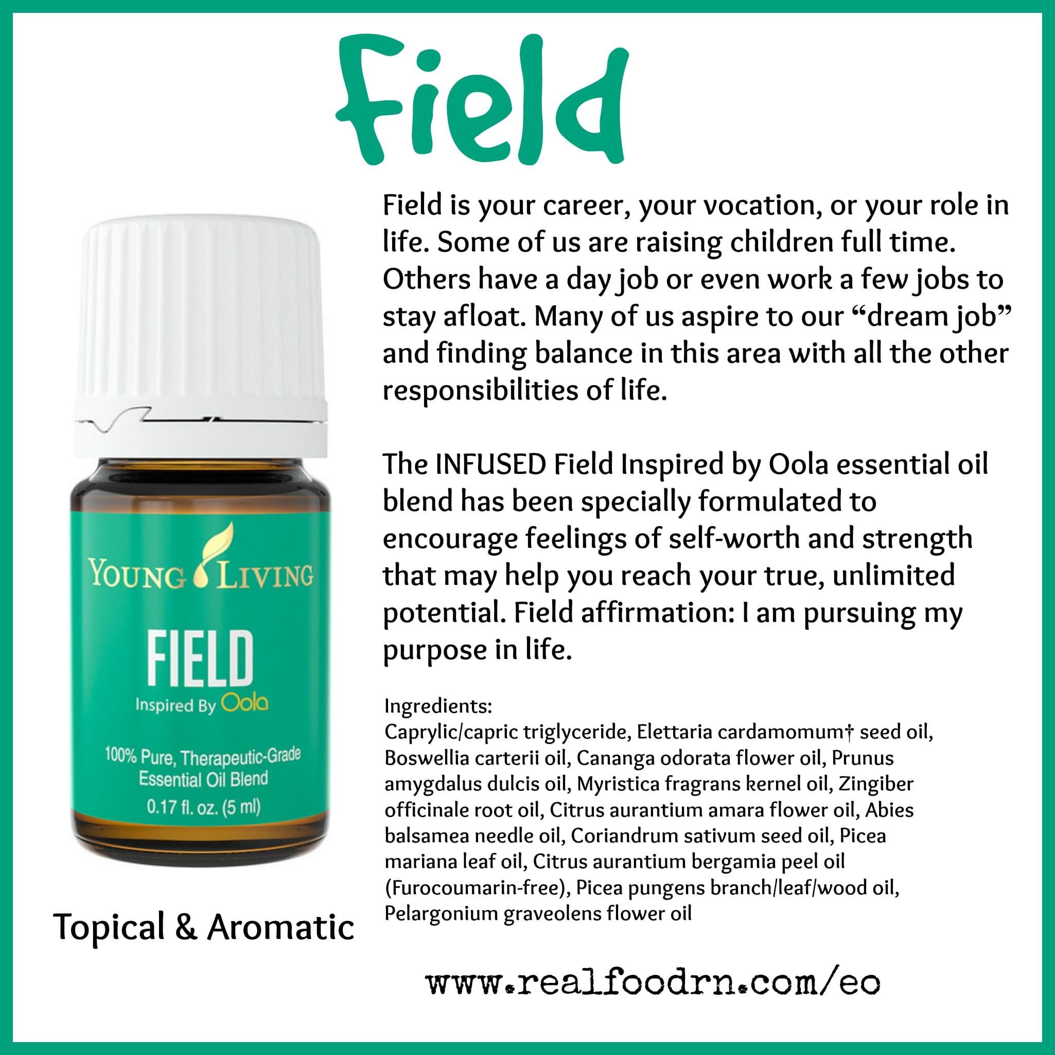 Field Essential Oil Pin