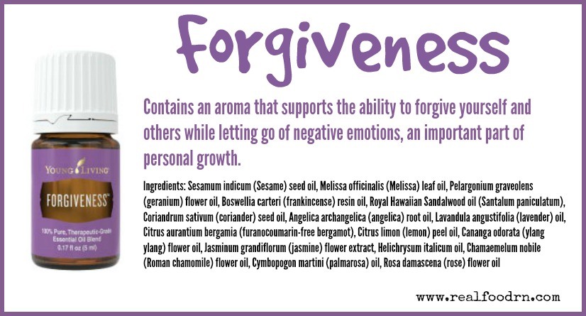 Forgiveness Essential Oil | Real Food RN