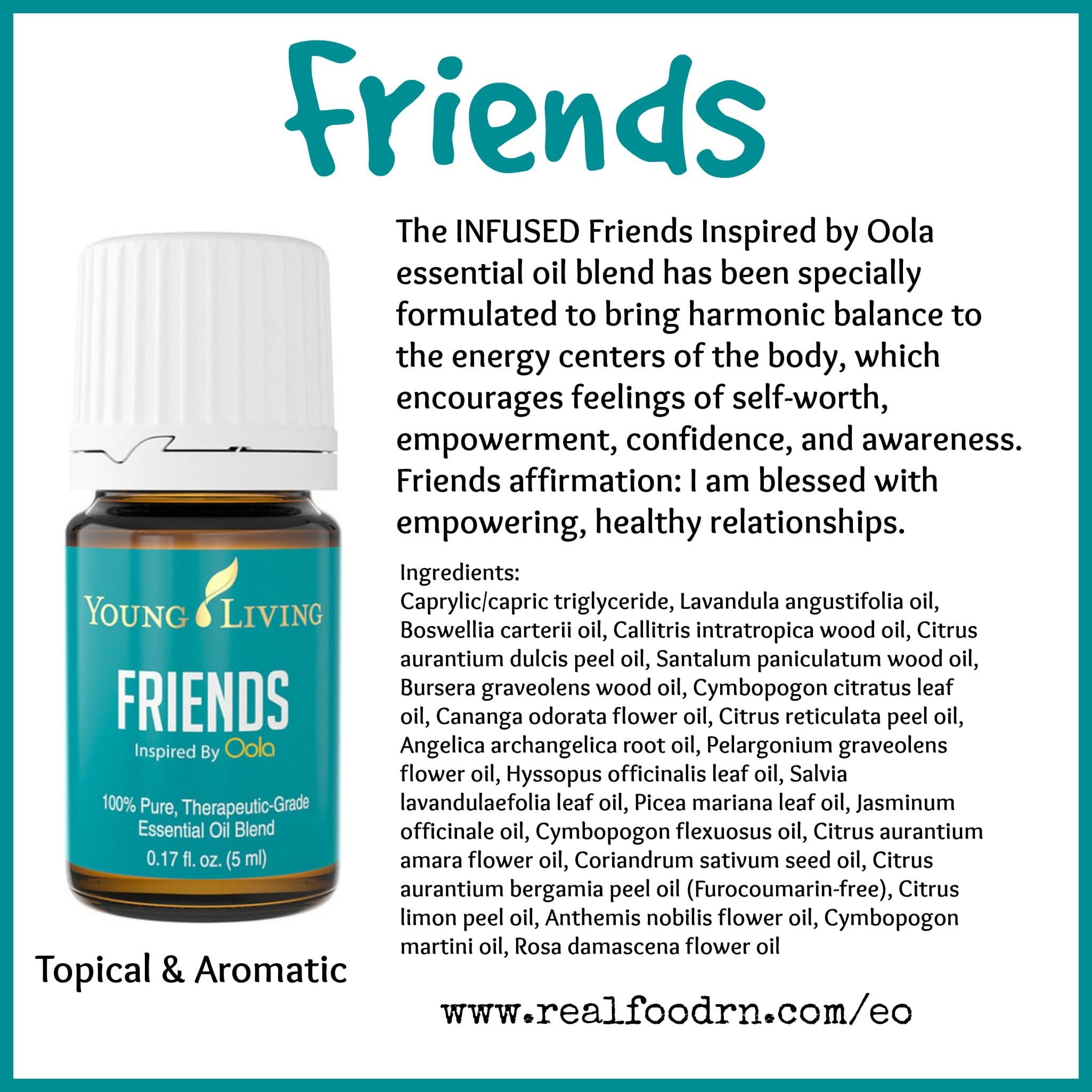 Friends Essential Oil Pin