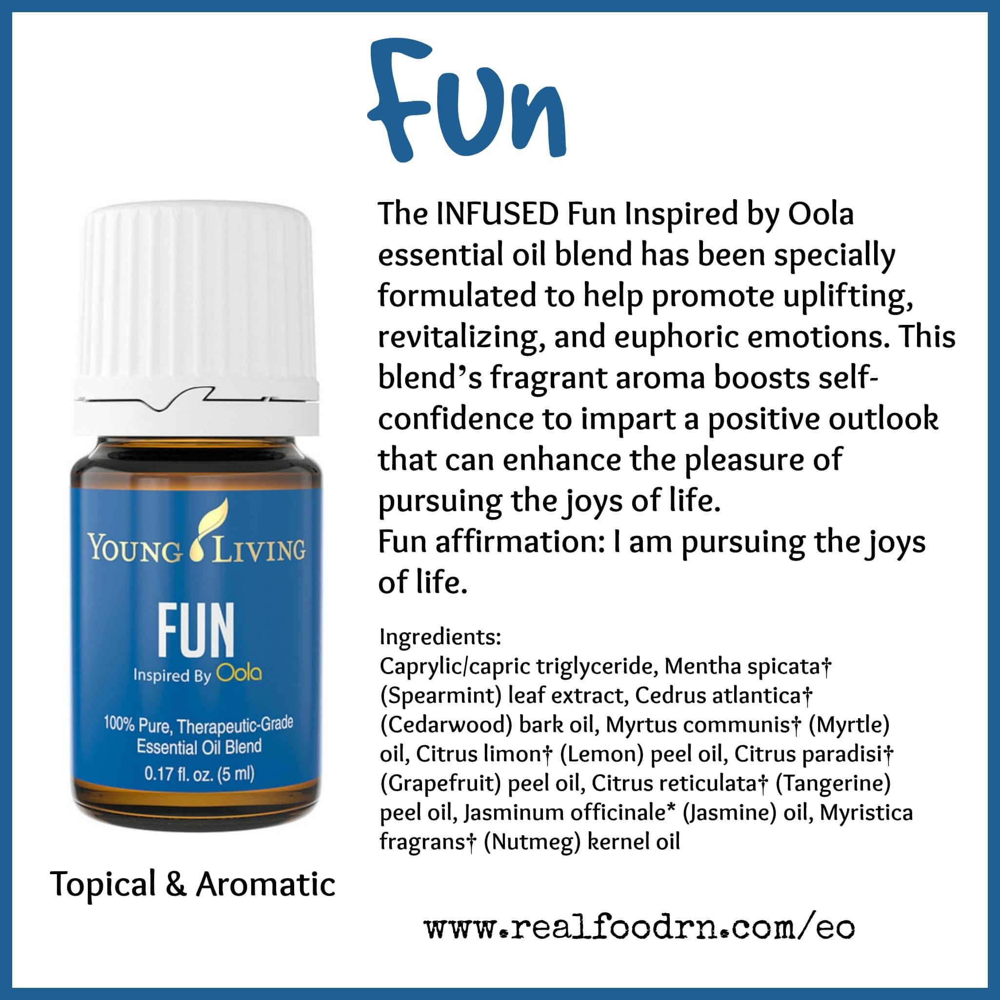 Fun Essential Oil Pin