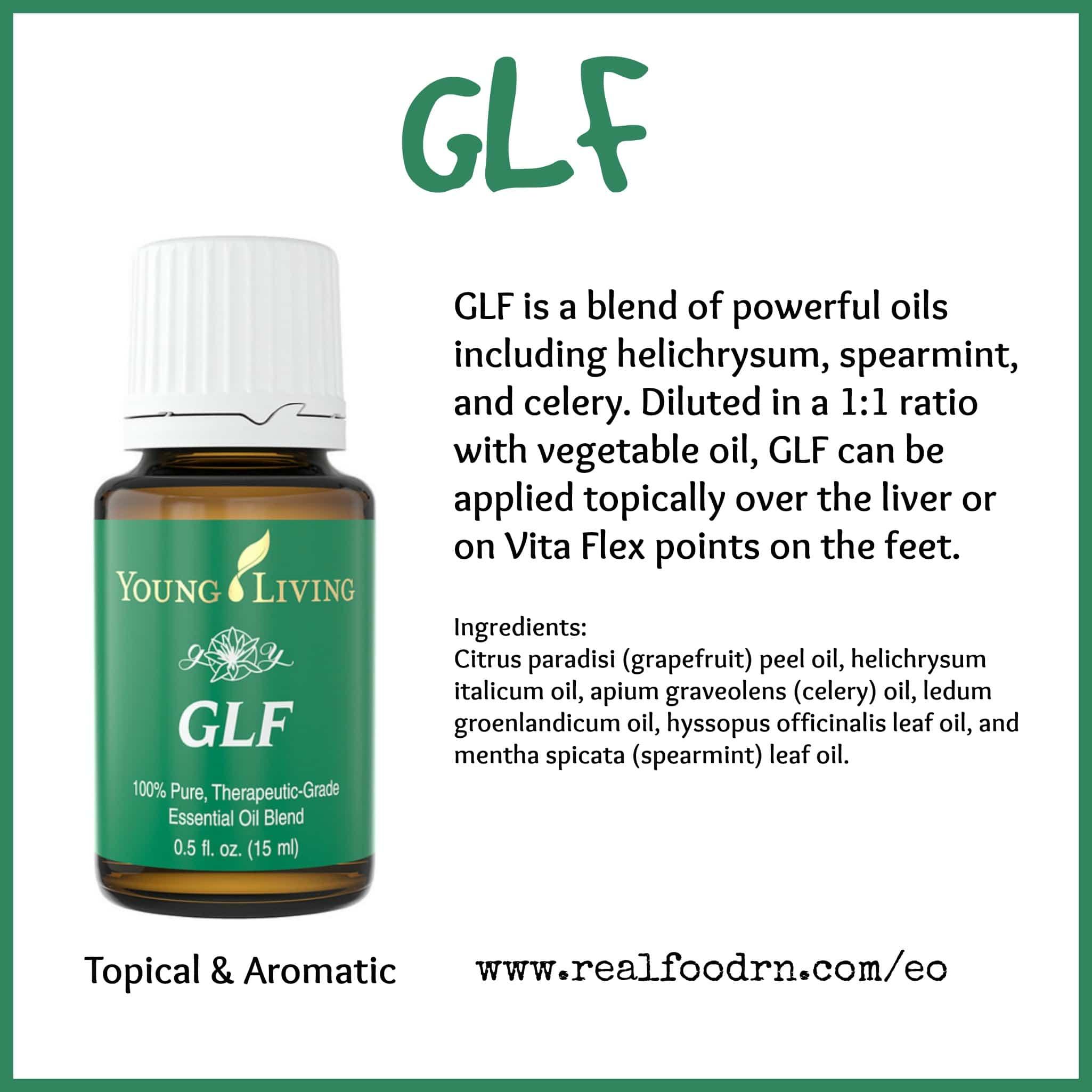 GLF Essential Oil Pin