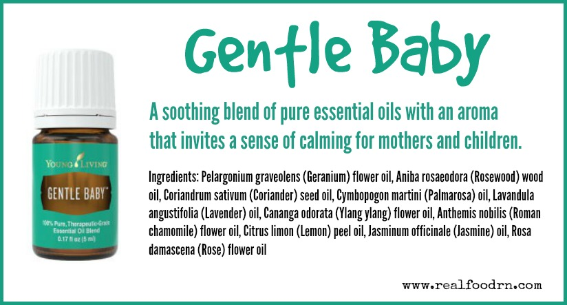 Gentle Baby Essential Oil | Real Food RN