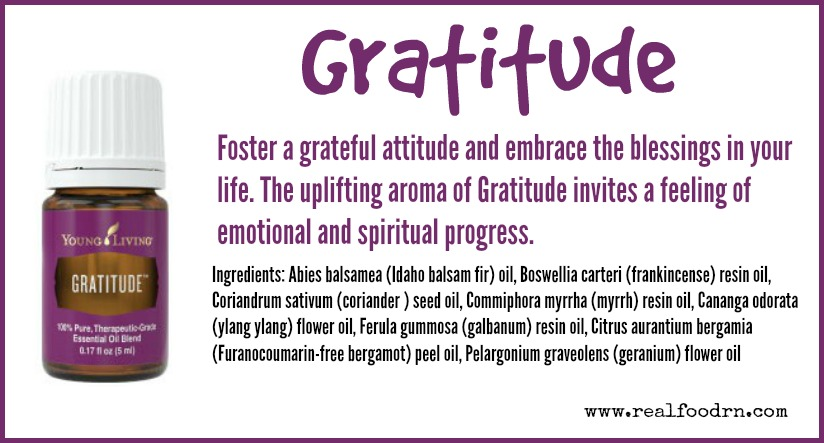Gratitude Essential Oil | Real Food RN