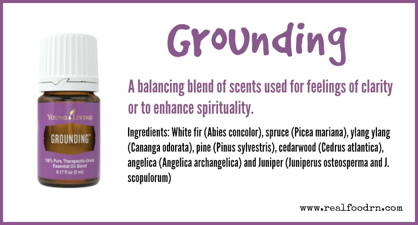 Grounding Essential Oil | Real Food RN
