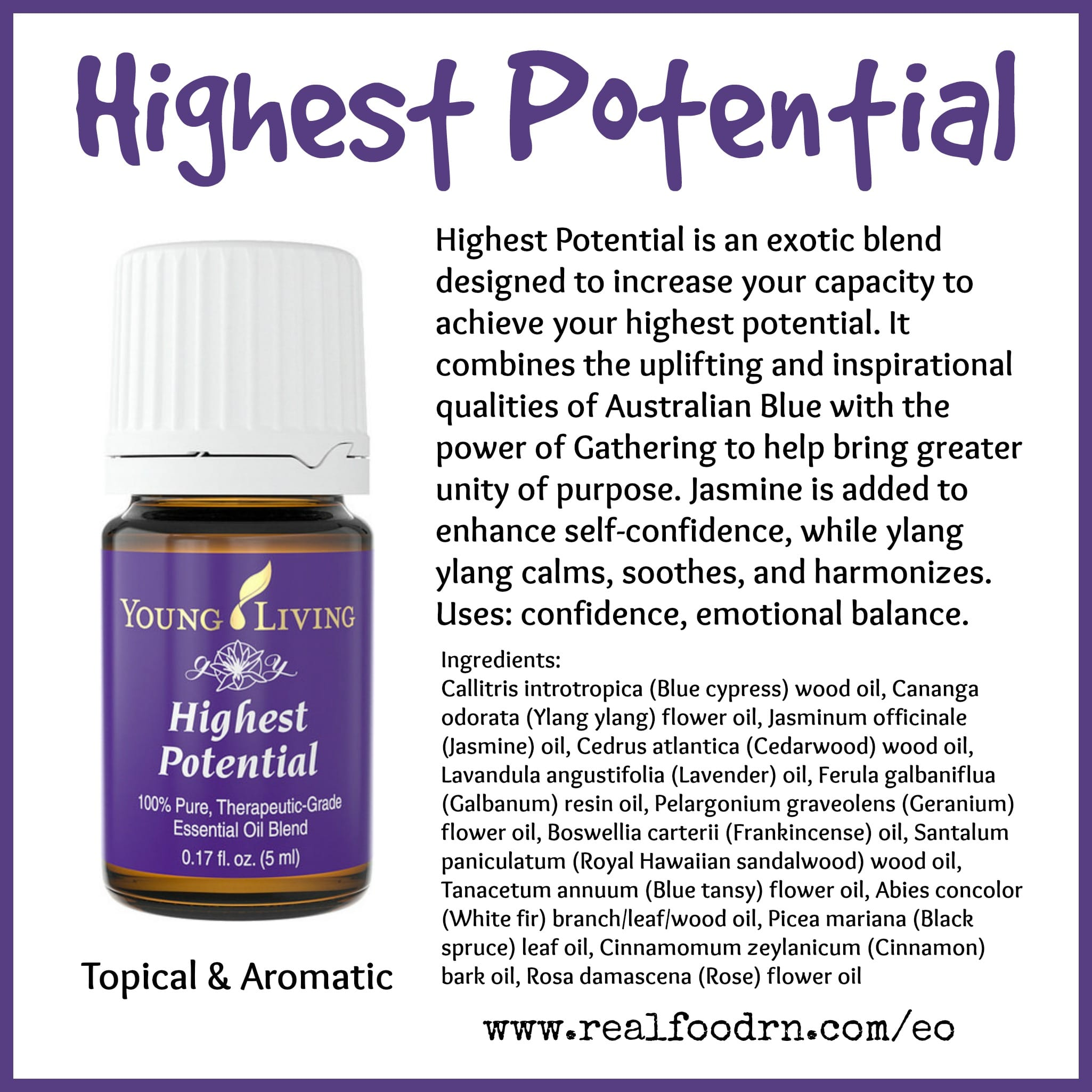 Highest Potential Essential Oil Pin