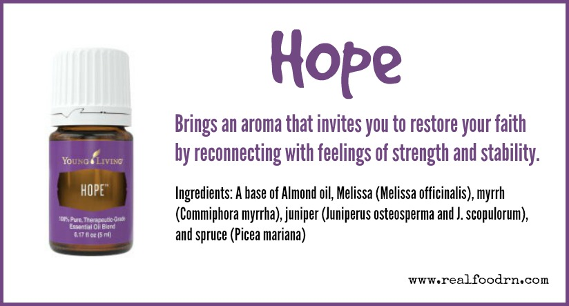 Hope Essential Oil | Real Food RN