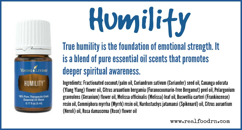 Humility Essential Oil | Real Food RN