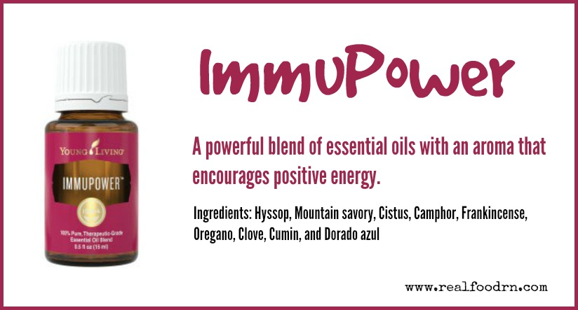 ImmuPower Essential Oil | Real Food RN