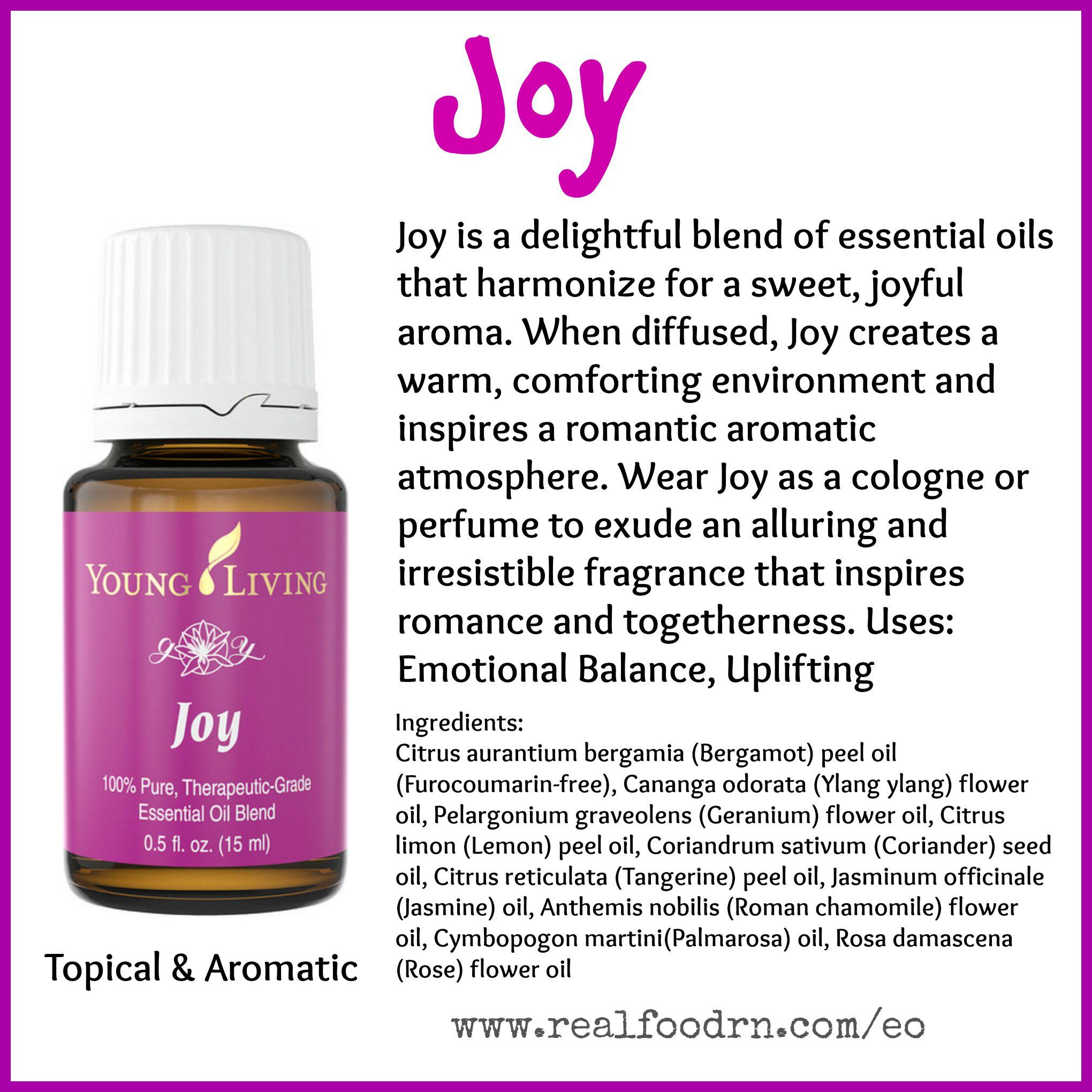 Joy Essential Oil Pin