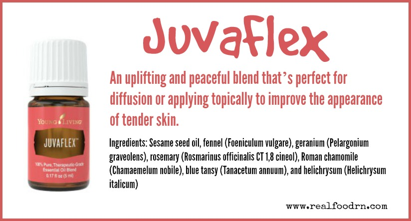 JuvaFlex Essential Oil | Real Food RN