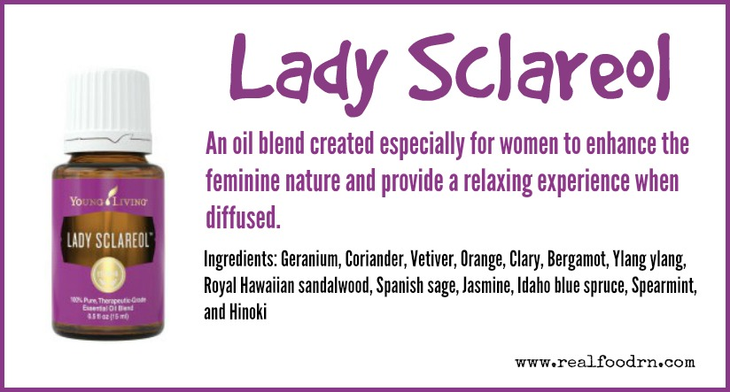 Lady Sclareol Essential Oil | Real Food RN