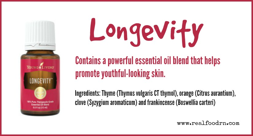 Longevity Essential Oil | Real Food RN