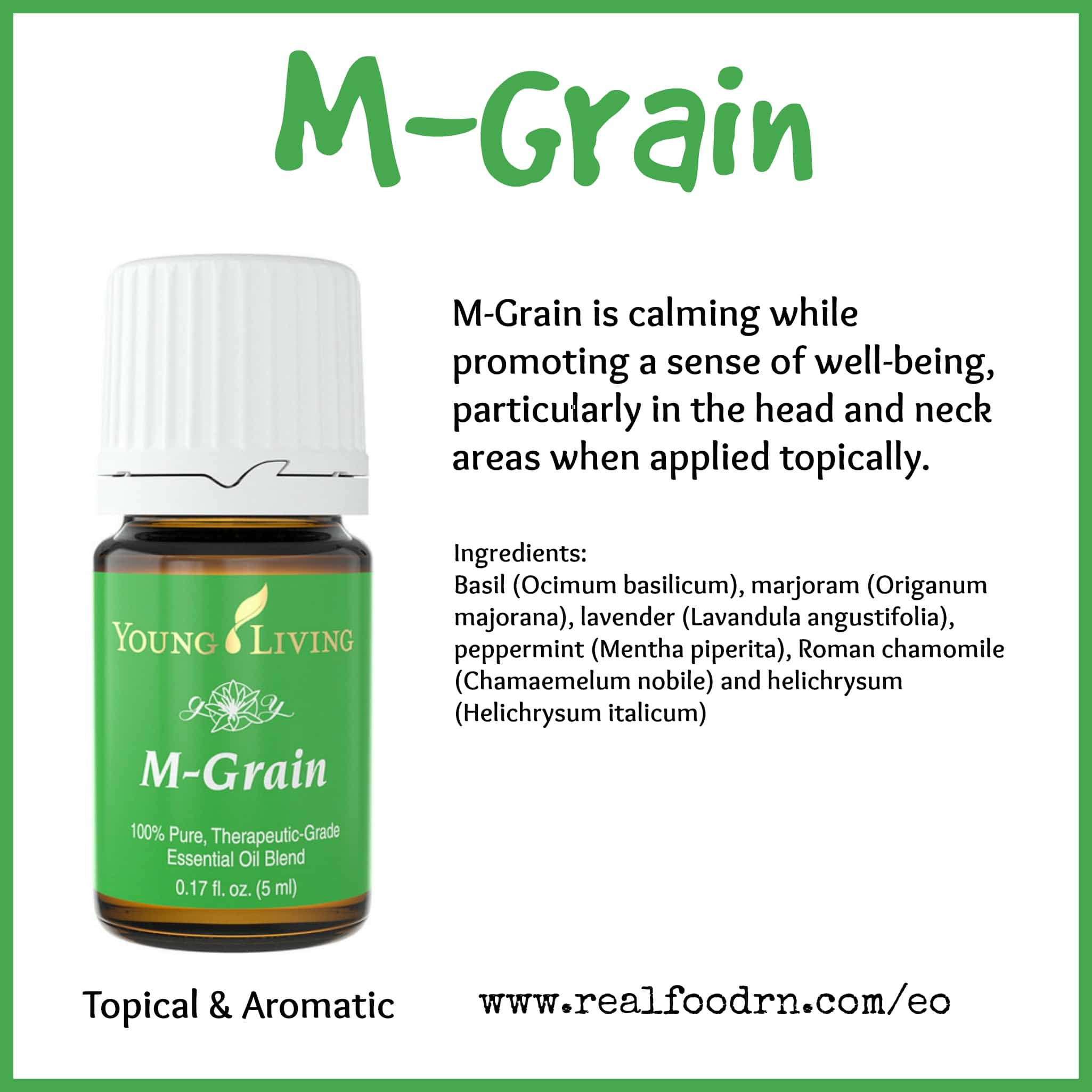 M-Grain Essential Oil Pin