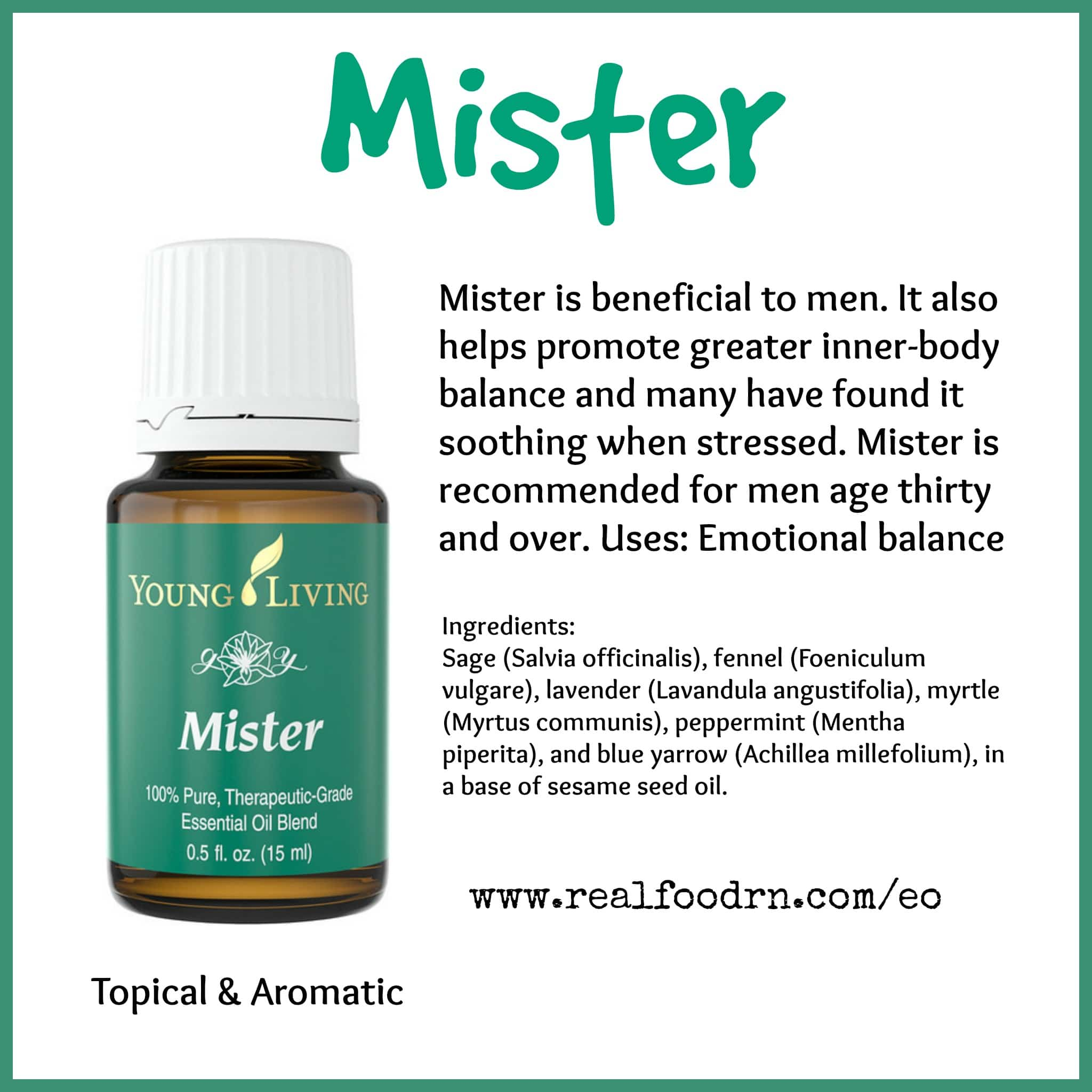 Mister Essential Oil Pin