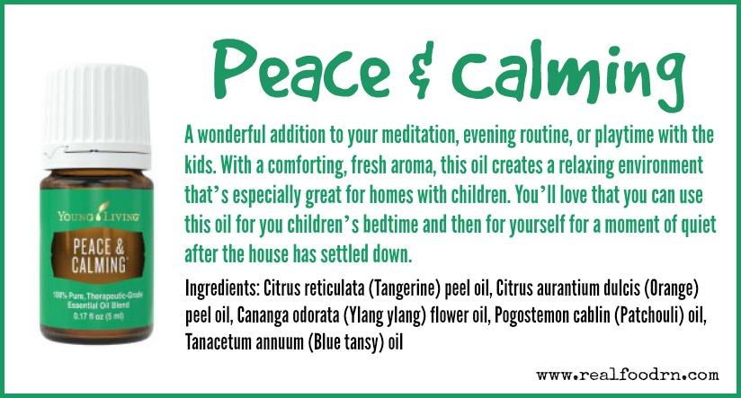 Peace & Calming Essential Oil | Real Food RN