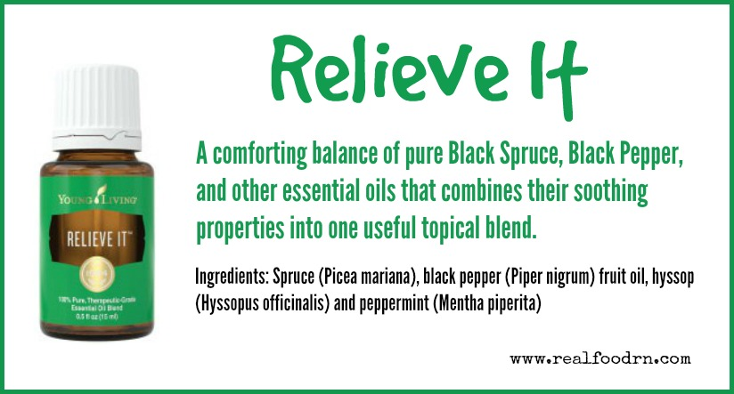 Relieve It Essential Oil | Real Food RN