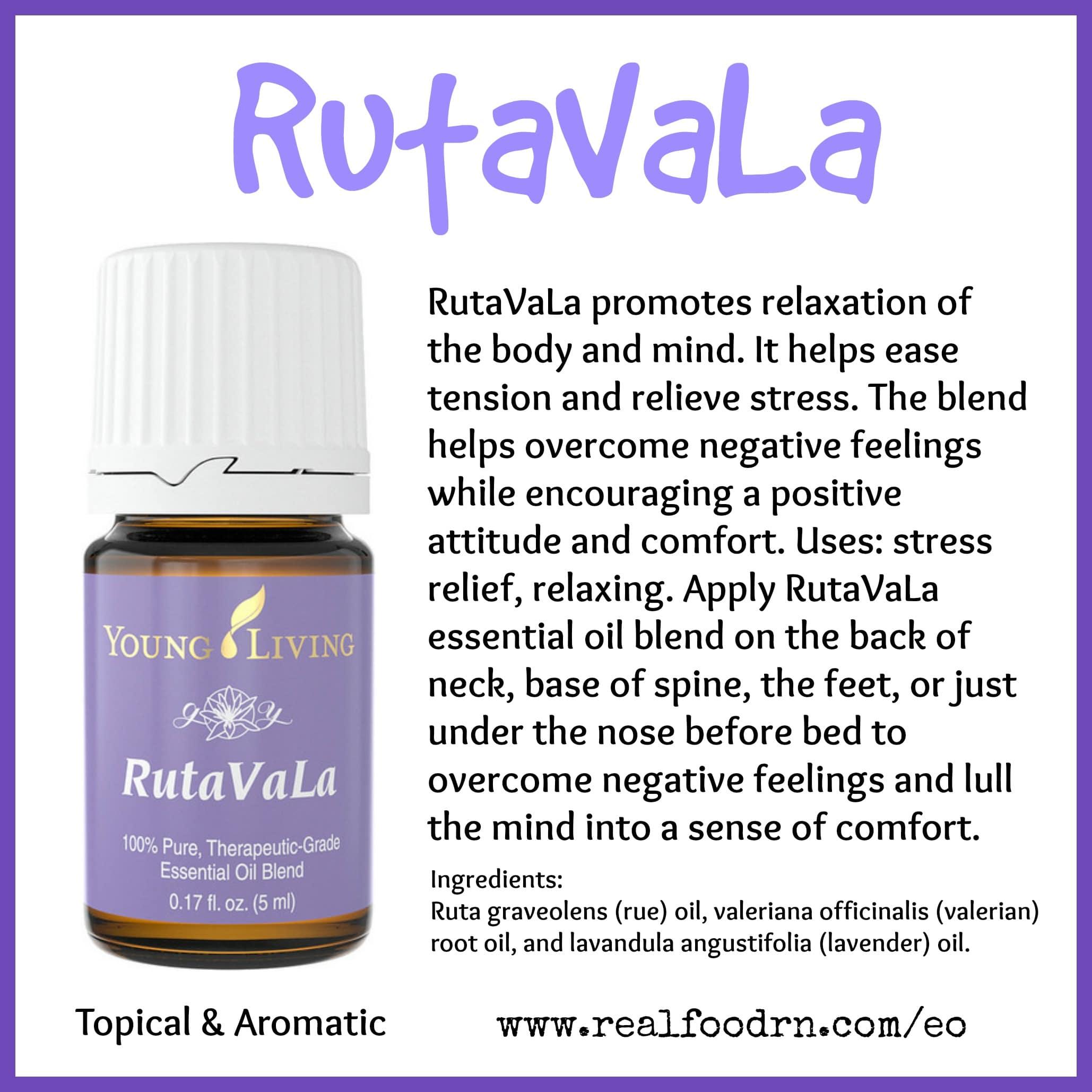 RutaVaLa Essential Oil Pin