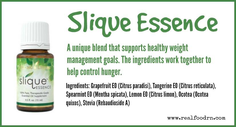 Slique Essence Essential Oil | Real Food RN