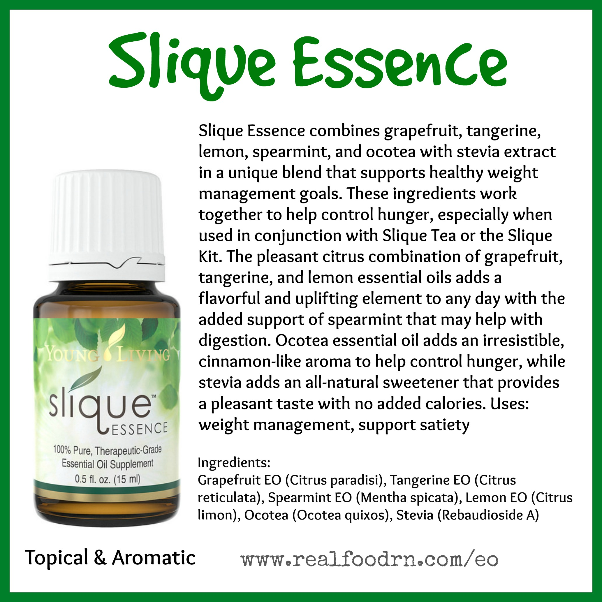 Slique Essence Essential Oil Pin