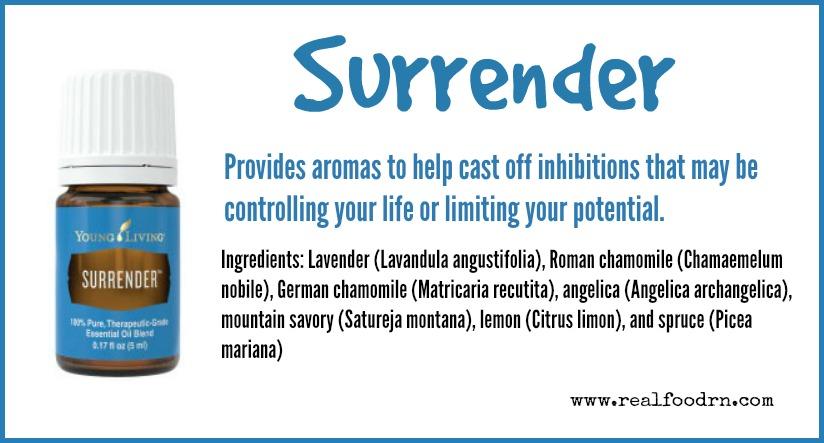 Surrender Essential Oil | Real Food RN
