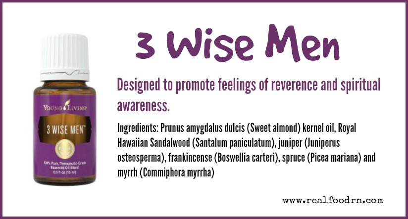 3 Wise Men Essential Oil | Real Food RN