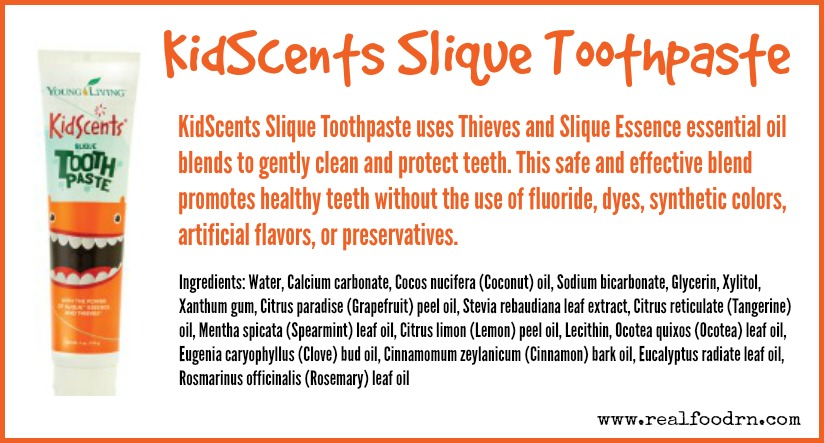 KidScents Slique Toothpaste | Real Food RN