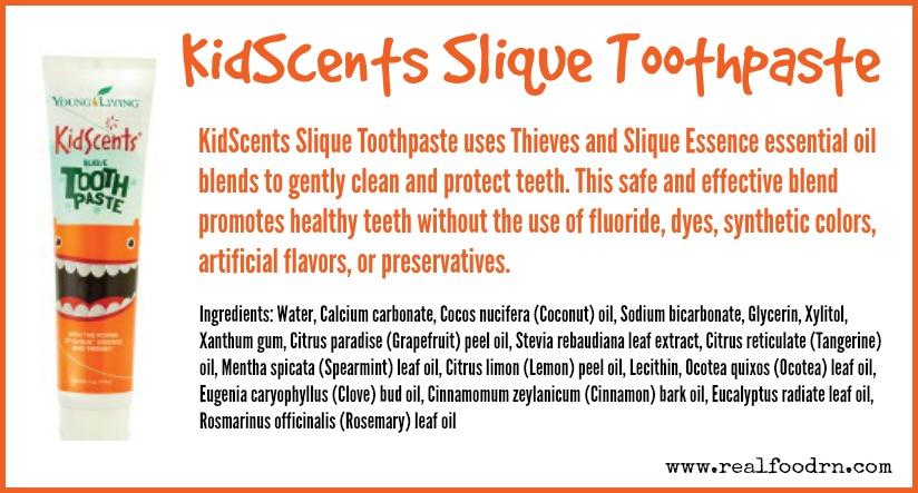 KidScents Slique Toothpaste | Real Food RN