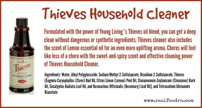 Thieves Household Cleaner | Real Food RN