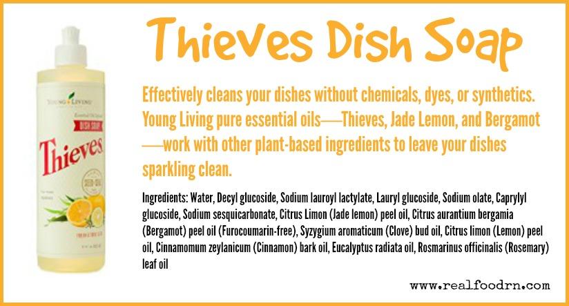 thieves dish soap | Real Food RN