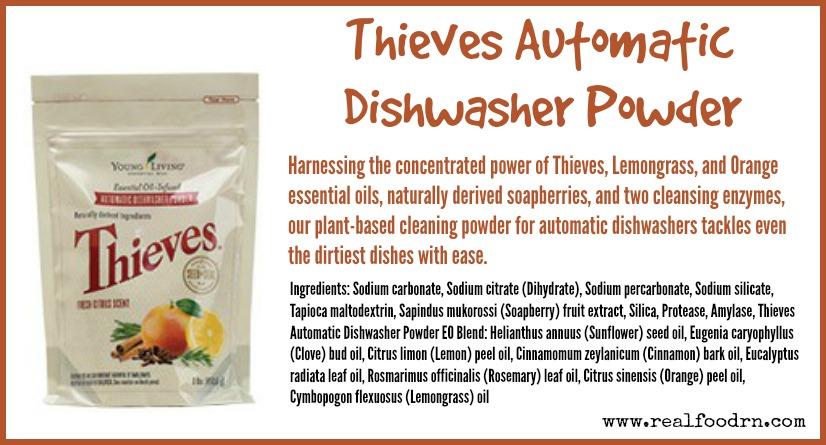 Thieves Automatic Dishwasher Powder | Real Food RN