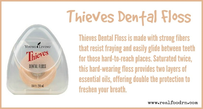 Thieves Dental Floss | Real Food RN