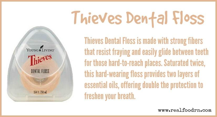 Thieves Dental Floss   Real Food RN