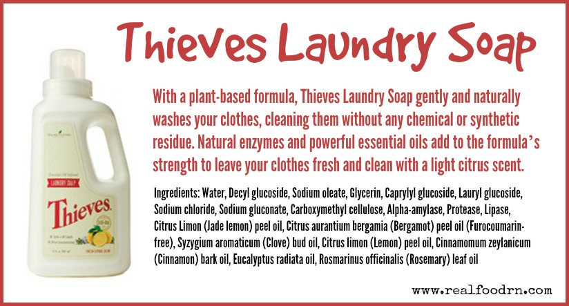 Thieves Laundry Soap | Real Food RN