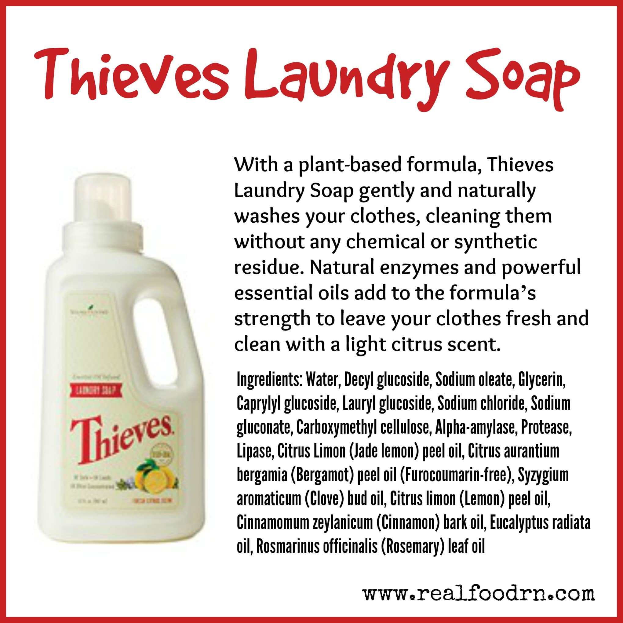 how to produce laundry soap