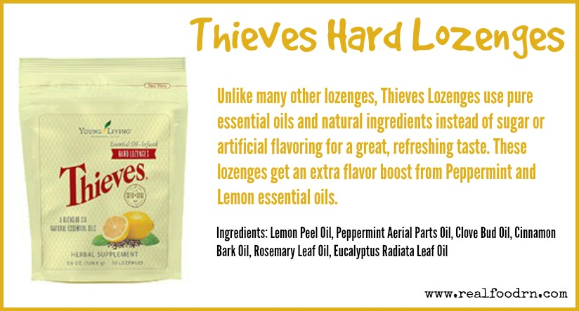 Thieves Hard Lozenges | Real Food RN