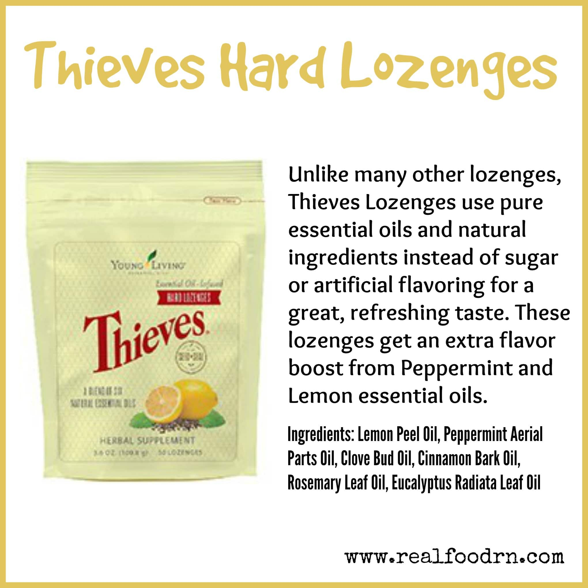 Thieves Hard Lozenges