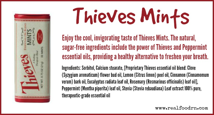 Thieves Mints | Real Food RN