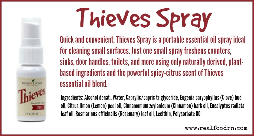 Thieves Spray | Real Food RN