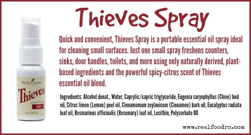 Thieves Spray | Real Food RN