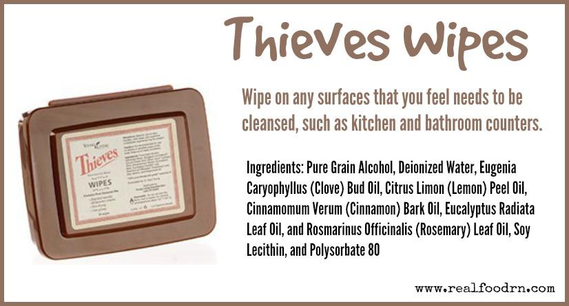 Thieves Wipes | Real Food RN