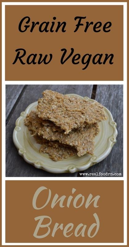 Addicting Grain Free Raw Vegan Onion Bread   Real Food RN