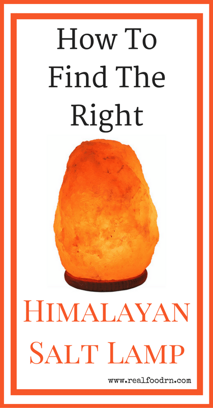 How To Find A Real Himalayan Salt Lamp | Real Food RN