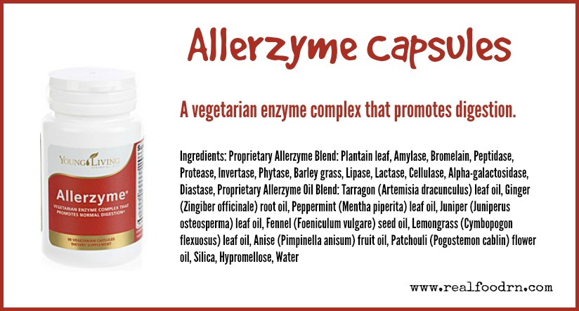 Allerzyme Capsules | Real Food RN