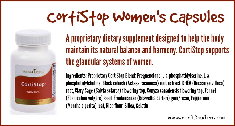 CortiStop Women's Capsules | Real Food RN