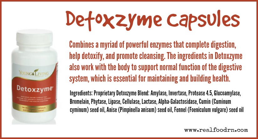 Detoxzyme Capsules | Real Food RN