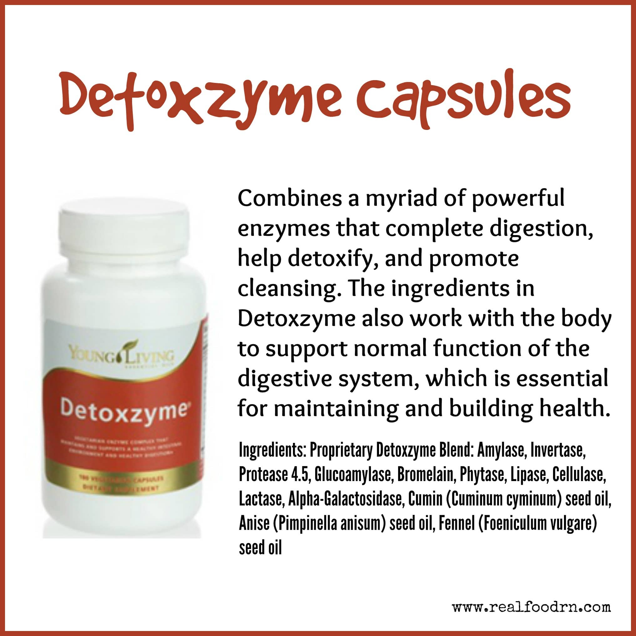 Detoxzyme Capsules