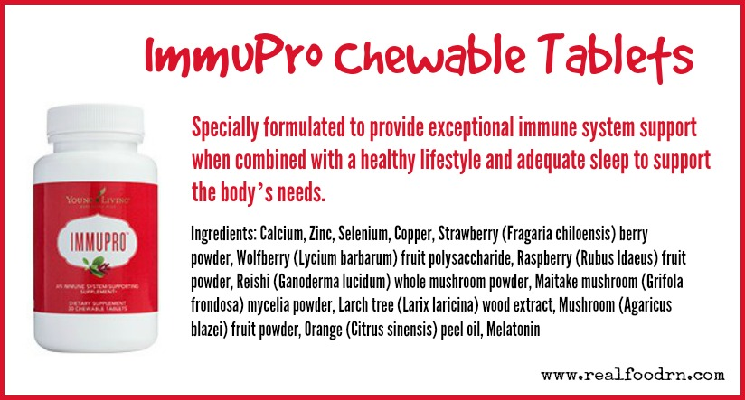 ImmuPro Chewable Tablets | Real Food RN