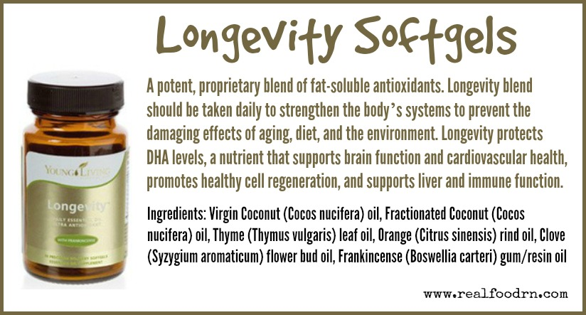 Longevity Softgels | Real Food RN
